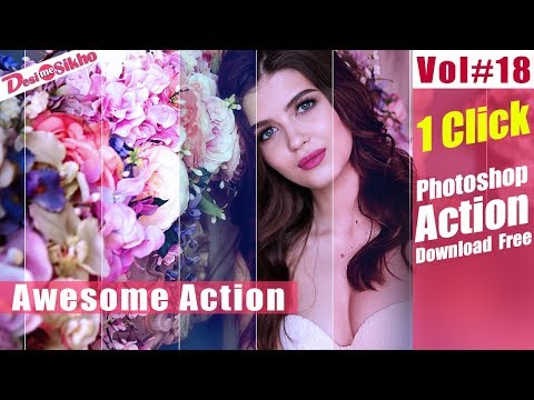 Photoshop Retouching Actions Download Free Vol#18 [desimesikho]