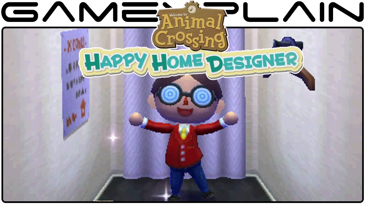Animal Crossing: Happy Home Designer: Day 2 - Game & Watch - YouTube