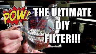 How To: The Ultimate Diy Internal Aquarium Filter!!
