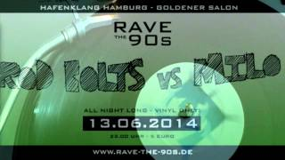 The Iron Raver @ RAVE THE 90s (Rod Bolts vs Milo)