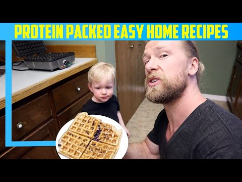 3 Simple Protein Packed Meals to Make at Home! | Breakfast, Lunch & Dinner
