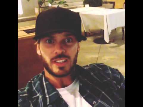 matt pokora d couvre la vid o instagram youtube. Black Bedroom Furniture Sets. Home Design Ideas