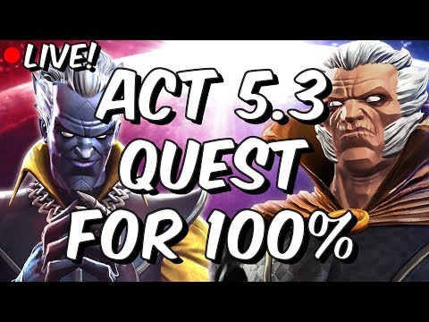 Act 5 Chapter 3 - Quest for 100% Part 1 - Marvel Contest Of Champions