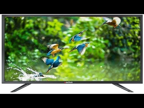 Activa 6003 led Tv Unboxing 32 inch (80cm)