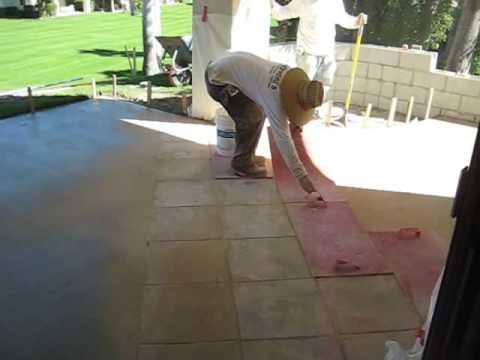 Concrete Patio Pour Day One