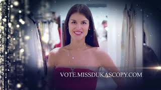 Miss Dukascopy Finalist 2017. Miss August Ekaterina Kamenkova