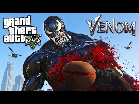 ULTIMATE VENOM MOD!! (GTA 5 Mods)