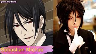 Black Butler Characters In Real Life
