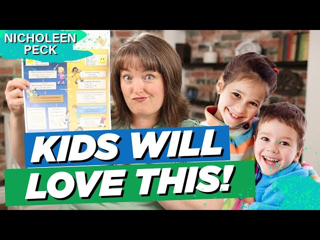 House Rules For Kids | Creating A Family Rules Chart