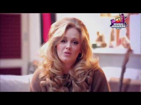 Adele: Révélation Internationale de l'année NRJ Music Awards 2012