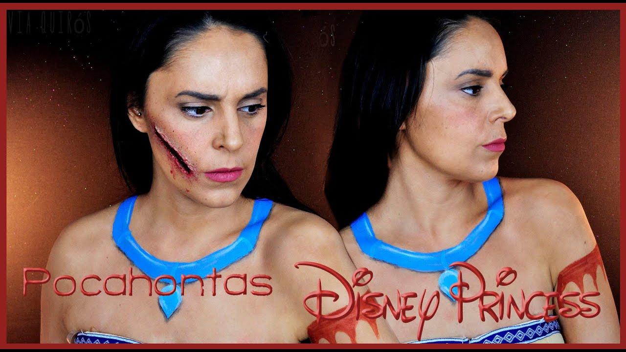 Pocahontas makeup tutorial fx makeup silvia quiros youtube pocahontas makeup tutorial fx makeup silvia quiros baditri Images