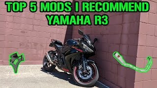 TOP 5 Mods For Your Yamaha R3