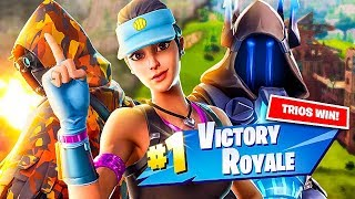 WINNING The NEW TRIOS MODE on Fortnite!! (NEW TRIOS MODE)