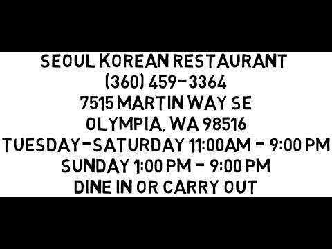 Korean Restaurant   Restaurants In Olympia WA