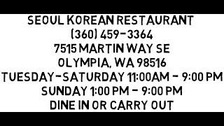 Korean Restaurant | Restaurants In Olympia WA