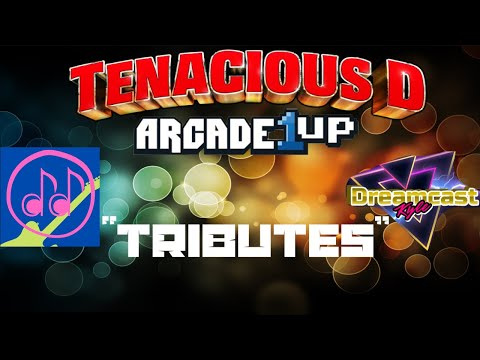 """""""Tributes"""" Parody/Cover Honoring Arcade1Up & Tenacious D- Collab with Double D Guitar from Dreamcast Kyle"""