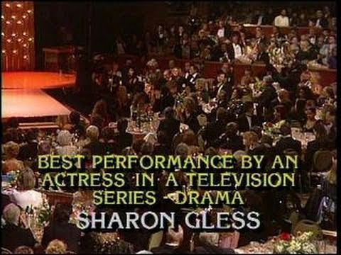 Sharon Gless Wins Best Actress in a TV Series Drama  Golden Globes 1986