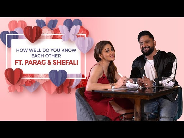 Shefali & Parag Celebrate Valentine's Day with BollywoodLife | Do they really know each other?
