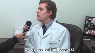 DR. Carlos Juliano Socoloski Especialista em Cirurgia e Traumatologia buco-maxilo-facial,