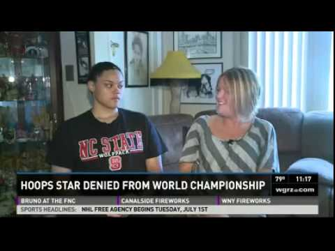 RIT on TV: Deaf Hoops Star featured on WGRZ
