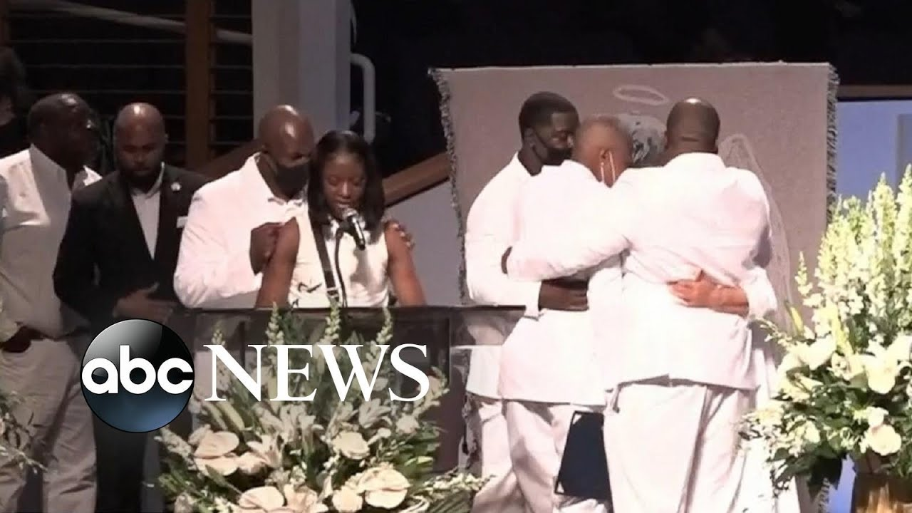 George Floyd's niece delivers passionate speech at his funeral