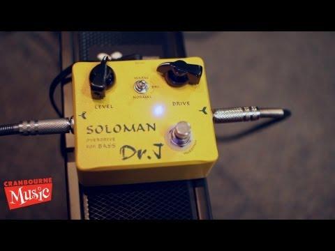 Dr J - Soloman Bass Overdrive