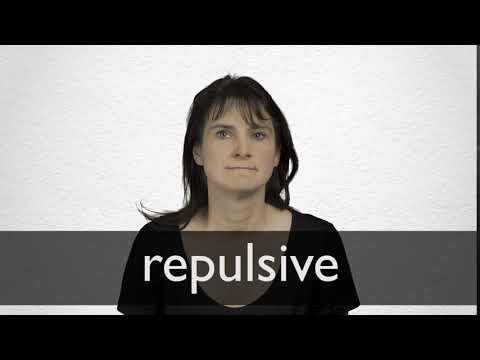 Repulsive definition and meaning | Collins English Dictionary