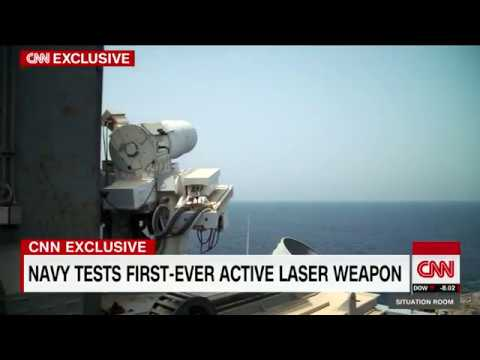 US Navy Active Laser Weapon System 2nd Generation