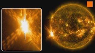 HD Video Solar Flare NASA 10/11 June 2014