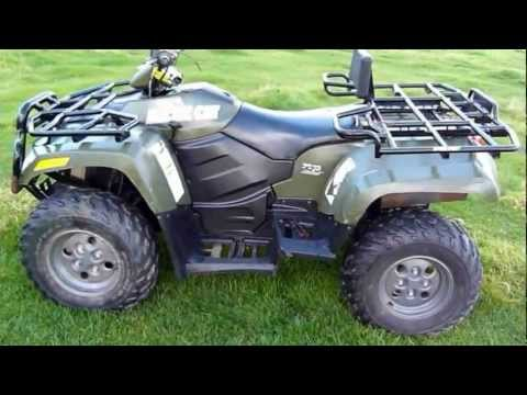 arctic cat 700 diesel atv quad youtube. Black Bedroom Furniture Sets. Home Design Ideas