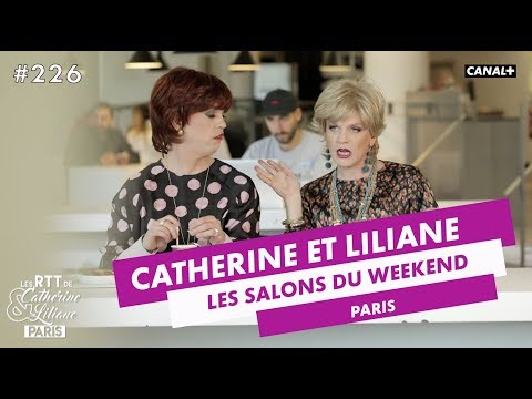 Les salons du week-end - Catherine et Liliane - CANAL+
