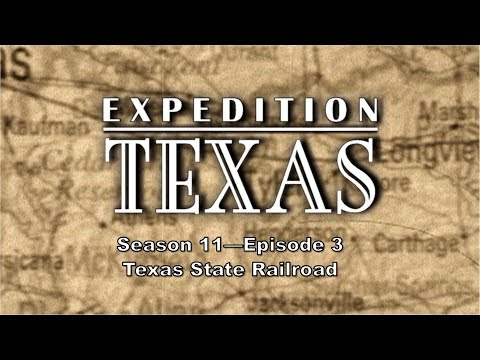 Expedition Texas 1103 - Texas State Railroad