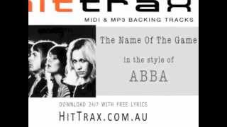 ABBA -  The Name Of The Game (backing track minus vocals)