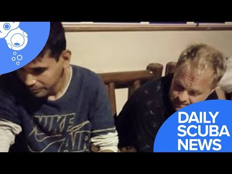 Daily Scuba News - Scuba Divers Lost At Sea Tells Of Night-Time Terror