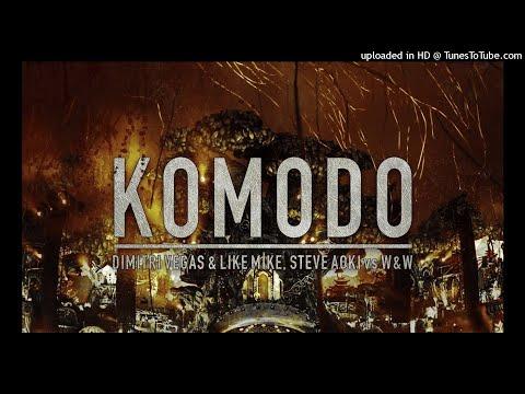 Dimitri Vegas & Like Mike, Steve Aoki vs W&W - Levels vs Komodo vs Hey Baby Mashup Tomorrowland 2017