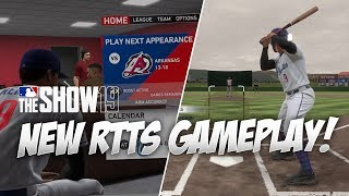 First Look at NEW Road to the Show Gameplay in MLB The Show 19