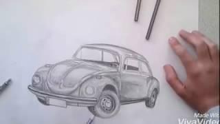 Volkswagen çizimi