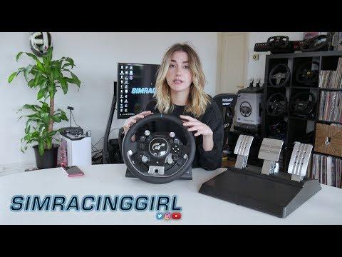 Thrustmaster T-GT Gran Turismo Sport PS4 Wheel Mini Review By SimRacingGirl