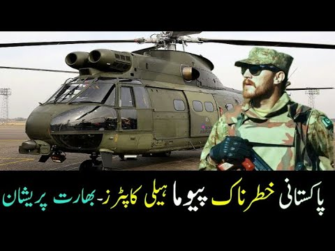 Pakistan Airforce World Most Efficient Puma Helicopters