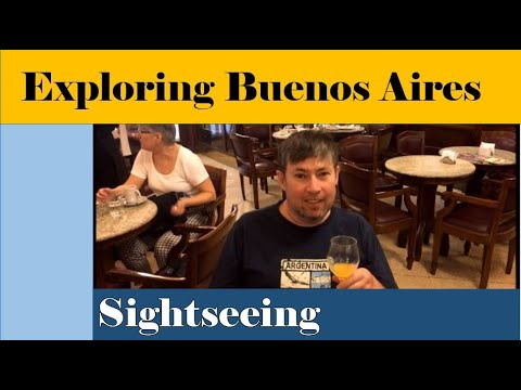 SIGHTSEEING IN BUENOS AIRES