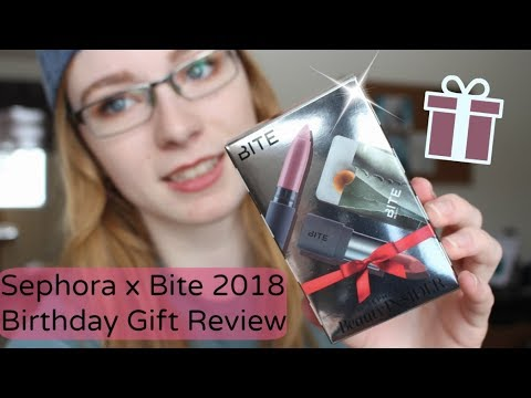 SEPHORA X BITE BEAUTY BIRTHDAY GIFT REVIEW 2018 // & collective haul
