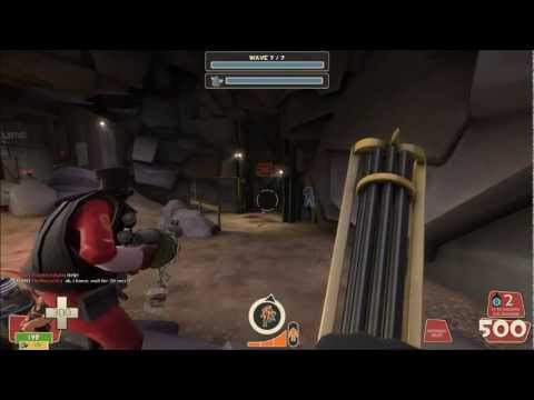 "TF2 - MvM: Flawless victory on ""Broken Parts"""