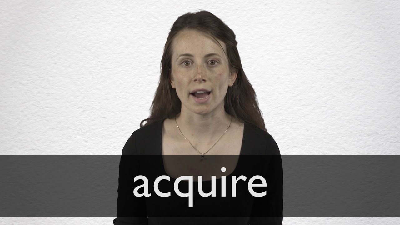 How to pronounce ACQUIRE in British English