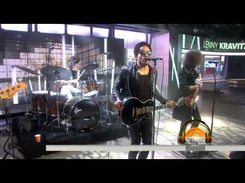 Lenny Kravitz  - The Chamber ¦LIVE On Today Show 2014¦