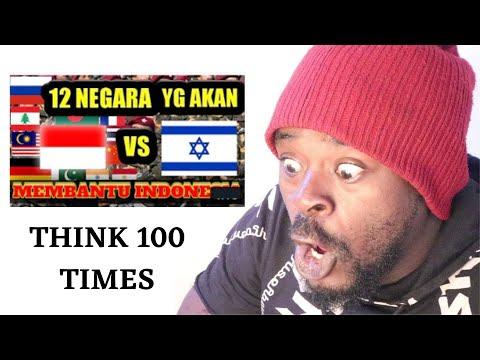 UGANDAN REACTS TO 100 KALI MIKIR ISRAEL MAU SERANG INDONESIA-SAVE PALESTINA.  ISRAEL VS INDONESIA.