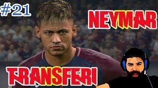 Pes 2018 Türkçe Analig #21 | Transfer Dönemi Neymar Geliyor Mu