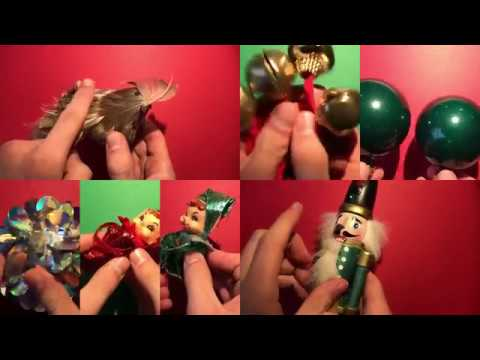 Making Music With Christmas Ornaments