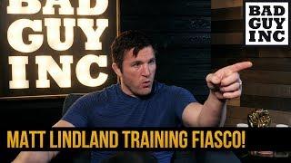 Crazy Matt Lindland training story...