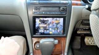 Как поставить планшет в автомобиль Nissan Laurel, вместо штатной магнитолы-2 часть
