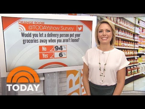 Wal-Mart Wants To Put Your Groceries Away For You: Convenient… Or Creepy? | TODAY